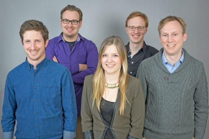 The guys from Berlin startup Lingoda.