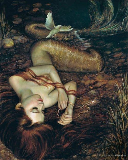 House of Red Doors Underwater Love Mermaid