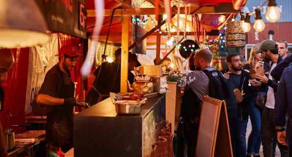 Bite Club X-Mas Party, Food Stalls