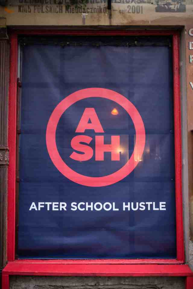 After School Hustle Door