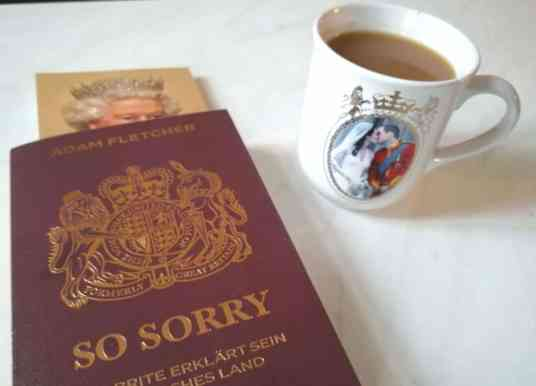"""""""So Sorry"""" is Your Taschenbuch to Britishness"""