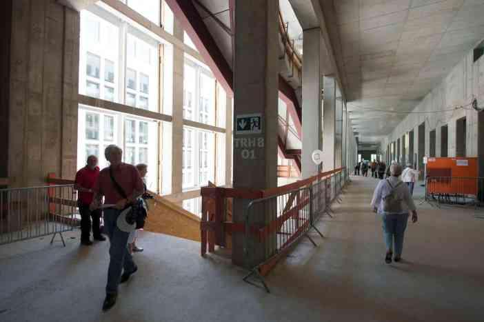 Berliner Schloss, offene Baustelle
