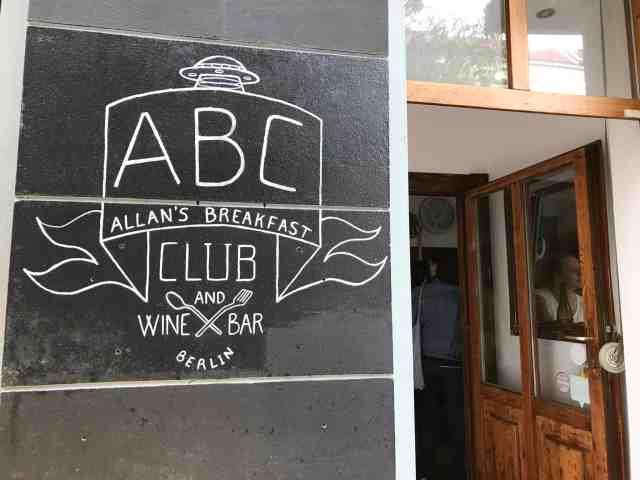 Allan's Breakfast Club & Wine Bar IMG_5091