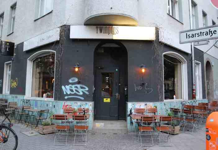outside TwinPigs Berlin