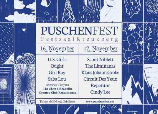 Puschenfest: No Headliners. Edgy Weirdness. Killer Indie Music.