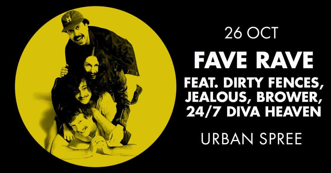 Get your Grunge, Punk and Garage Fix at FAVE RAVE this October