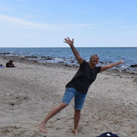 Marina Carelli oggi, foto scattata all'Ostsee
