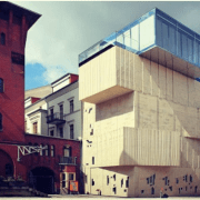 L'edificio che ospita il Museum für Architekturzeichnung (Museo del Disegno Architettonico - Foto dalla pagina Instagram ufficiale della Tchoban Foundationhttps://www.instagram.com/p/BYbH3U2BiC_/?taken-by=tchoban_foundation