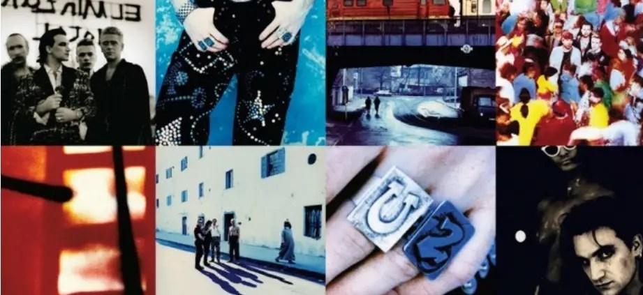 U2 - Copertina dell' album Achtung Baby