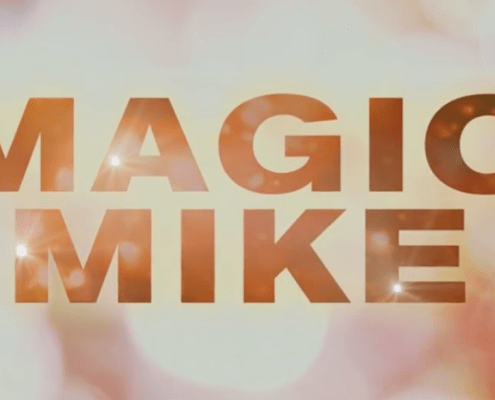 magic mike, screenshot on youtube