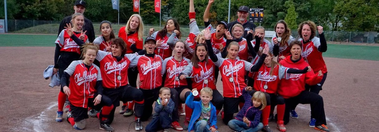 Squadra femminile © Patrick Wahl http://www.berlin-challengers.de/softball