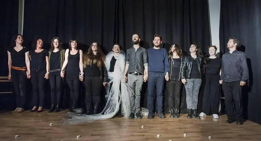 laboratorio di teatro di Berlino Schule