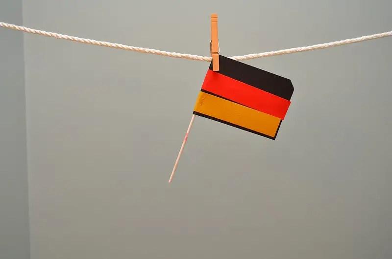 Germany flag, ©bradleypjohnson, https://www.flickr.com/photos/bradleypjohnson/15471238021/in/photolist-p7KT5a-bkB3kp-5occBX-8QuBvx-29XCmHV-9qvYxn-qcG3sJ-5ZUaQD-BWzizE-HiEpjF-3ekY64-dJThZh-2cg1EU3-gR65S-BESmYB-acaiFZ-FsfEm-9ZdLv1-6qjs44-4bsSQy-5kYQSN-9a5for-hvMpY4-JXHBSn-6sW4zL-LePaHC-5wgwxj-6g1E8K-4fvkR7-oSnybL-9QfPd5-pz9948-349puM-29yVznf-29yVAd3-pPziL5-Q8EaW-7XuqNC-24uTBAm-2cg1GrG-2cg1E3o-QK19x-oeu9Ua-2ZcER-d9YE3g-4Sn1Pi-9ZdJNS-oHiG7H-qZZDgt-J6QAGu/