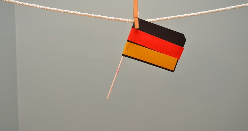 Germany flag, ©bradleypjohnson, https://www.flickr.com/photos/bradleypjohnson/15471238021/in/photolist-p7KT5a-bkB3kp-5occBX-8QuBvx-29XCmHV-9qvYxn-qcG3sJ-5ZUaQD-BWzizE-HiEpjF-3ekY64-dJThZh-2cg1EU3-gR65S-BESmYB-acaiFZ-FsfEm-9ZdLv1-6qjs44-4bsSQy-5kYQSN-9a5for-hvMpY4-JXHBSn-6sW4zL-LePaHC-5wgwxj-6g1E8K-4fvkR7-oSnybL-9QfPd5-pz9948-349puM-29yVznf-29yVAd3-pPziL5-Q8EaW-7XuqNC-24uTBAm-2cg1GrG-2cg1E3o-QK19x-oeu9Ua-2ZcER-d9YE3g-4Sn1Pi-9ZdJNS-oHiG7H-qZZDgt-J6QAGu/