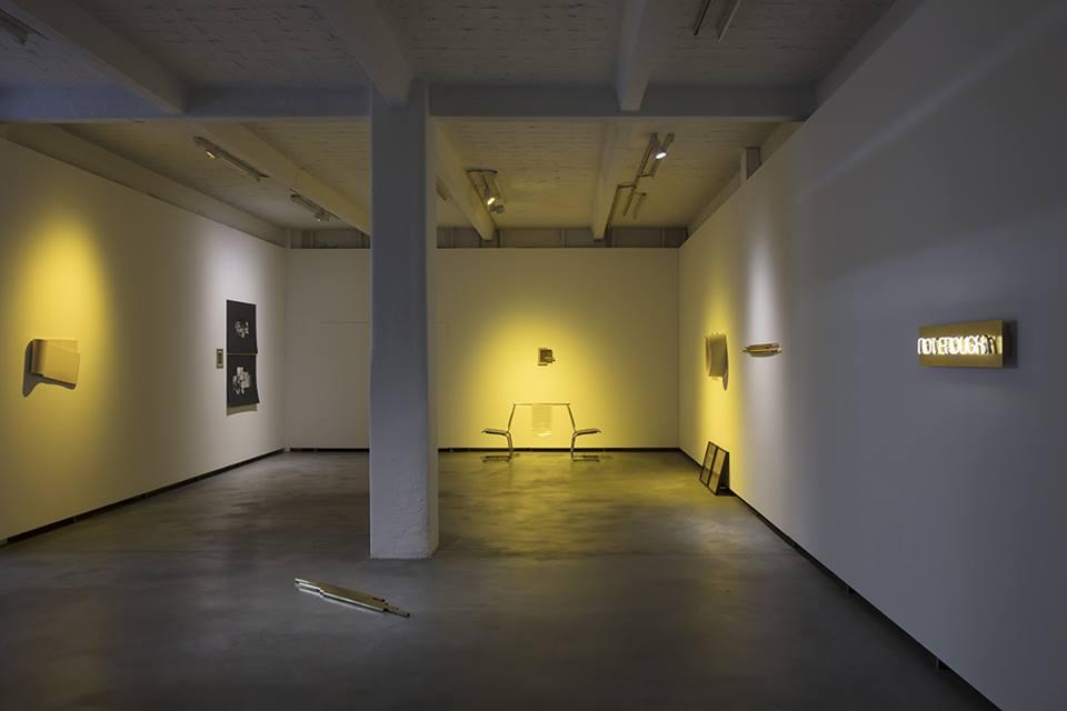 Exhibition view - Tinnitus, Künstlerhaus Bethanien, March 2017 (photographer: David Brand)