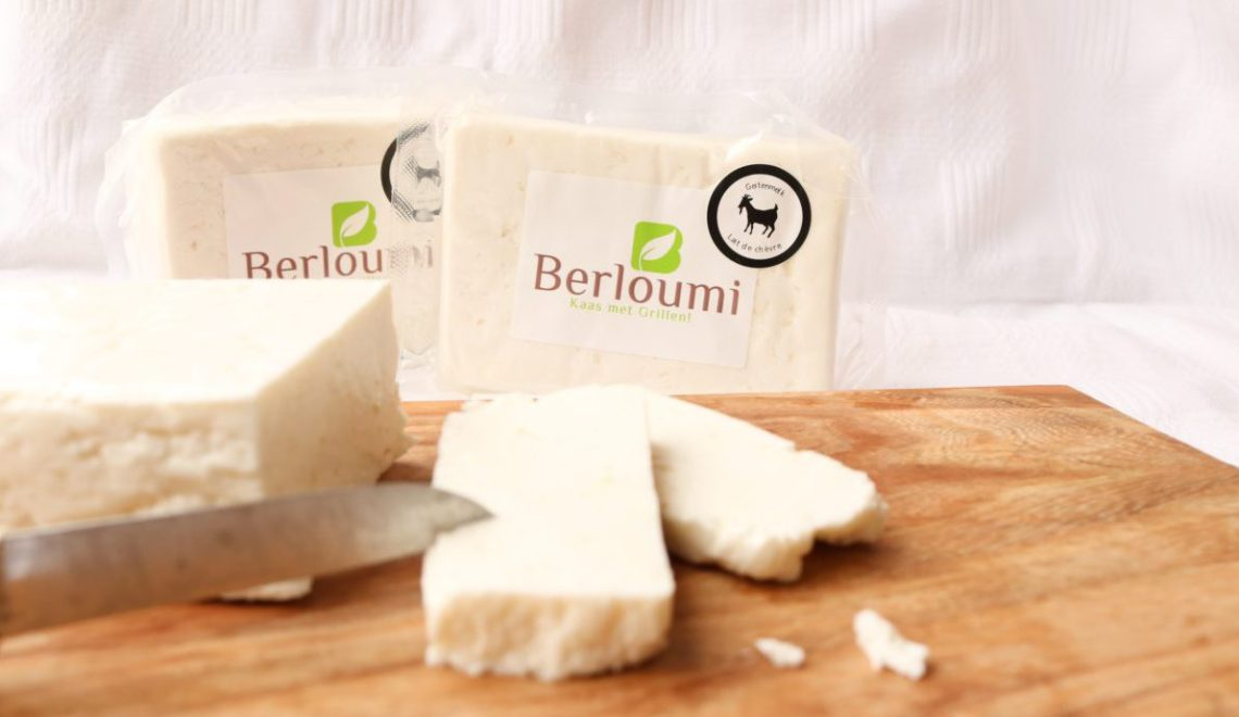 Berloumi made from goat milk