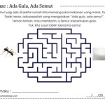 Maze: Ada Gula, Ada Semut