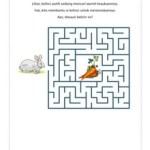 Maze: Kelinci Mencari Wortel