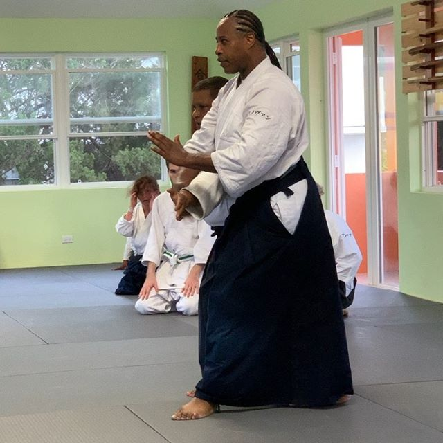 Shihan Donovan Waite @bermuda.aikikai Sunner seminar this weekend! Check the site for schedule and stop on by.