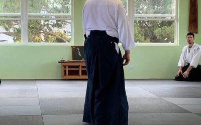 Sensei Smith teaches the basics tai sabaki