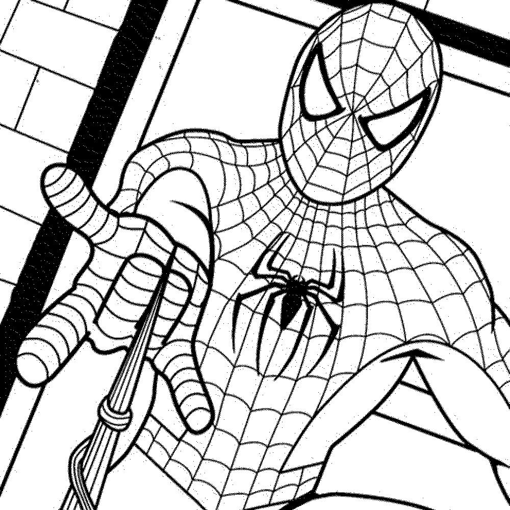 Coloriage À Imprimer Spiderman