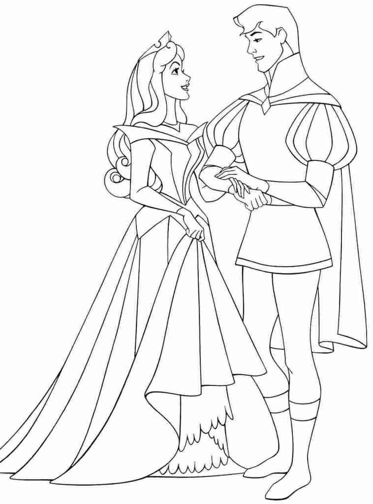 Coloriage Princesse Disney À Imprimer
