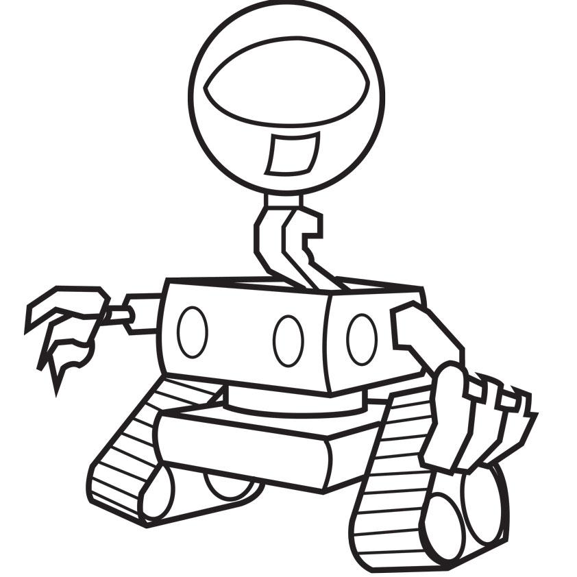 Dessin Robot Couleur