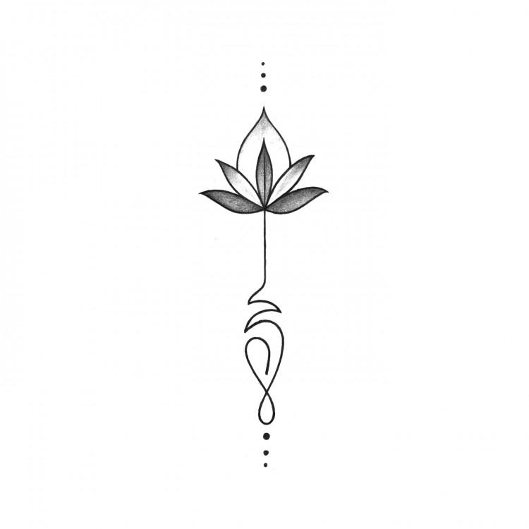Dessin Fleur De Lotus Facile