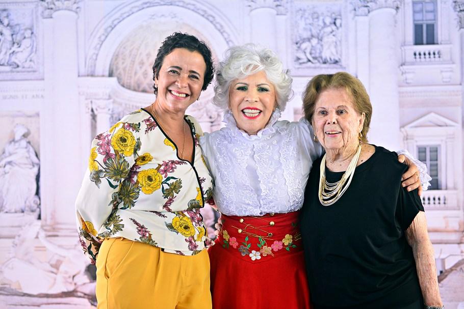 Márcia Rollemberg, Cosete e Zely Ornellas