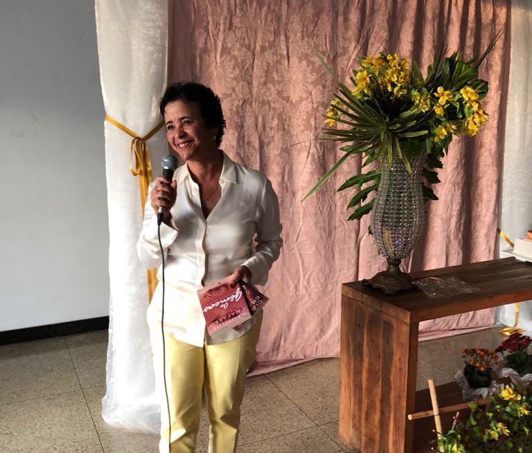 Lançamento livro Clotilde Chaparro