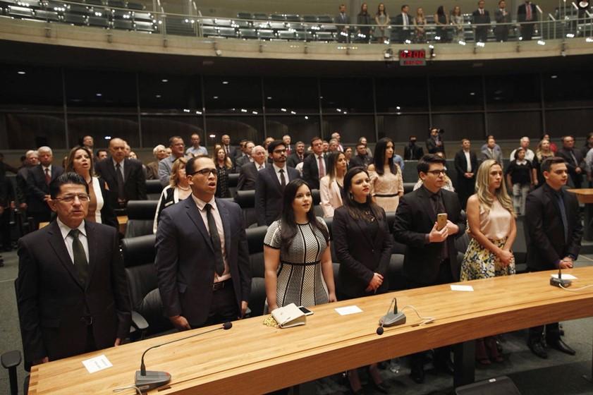 Sessão Solene da Câmara Legislativa