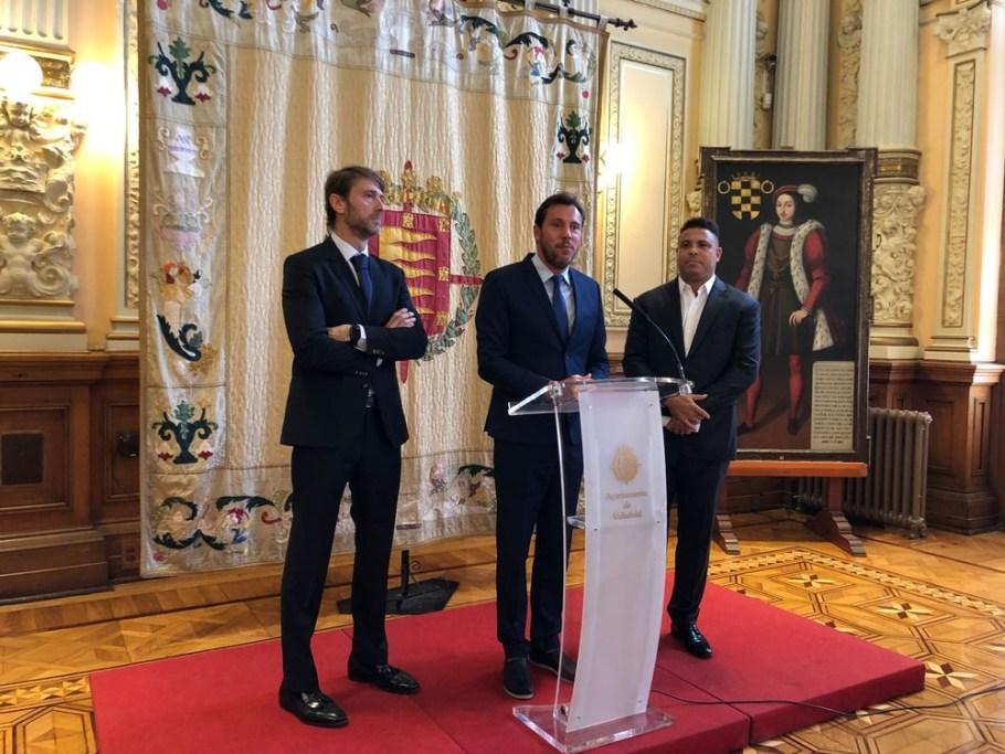 Presidente do Valladolid Carlos Suárez