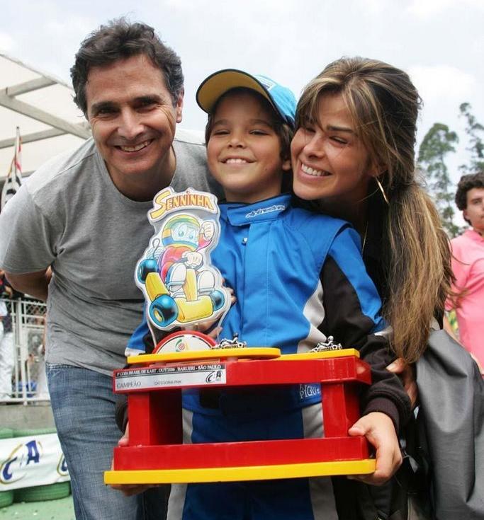 Pedro Piquet campeão da Copa Brasil de Kart em 200
