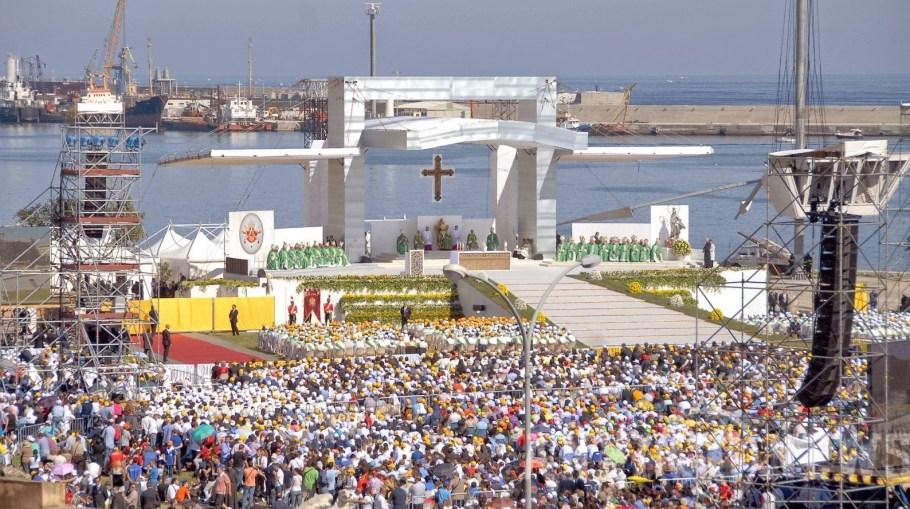 Papa Francisco em Palermo, Sicília - Itália