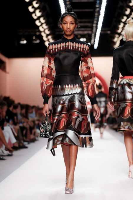 Fendi Semana da Moda em Milão