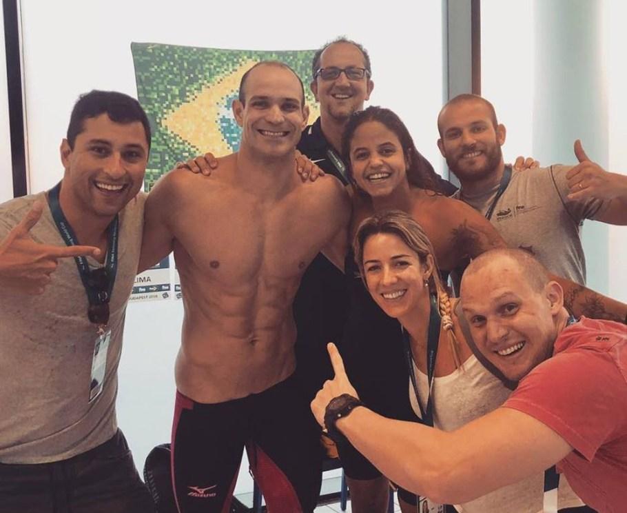 Delegação brasileira na Hungria