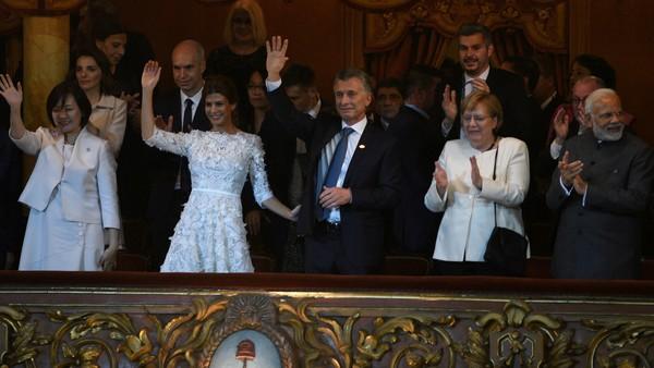 Lideres do G20 no Teatro Colón Buenos Aires