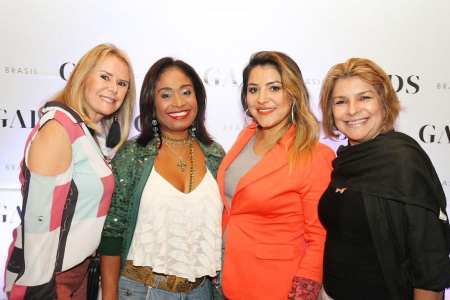 Carmen Difforene, Deni Moraes, Dariane Vale e Isabel Almeida