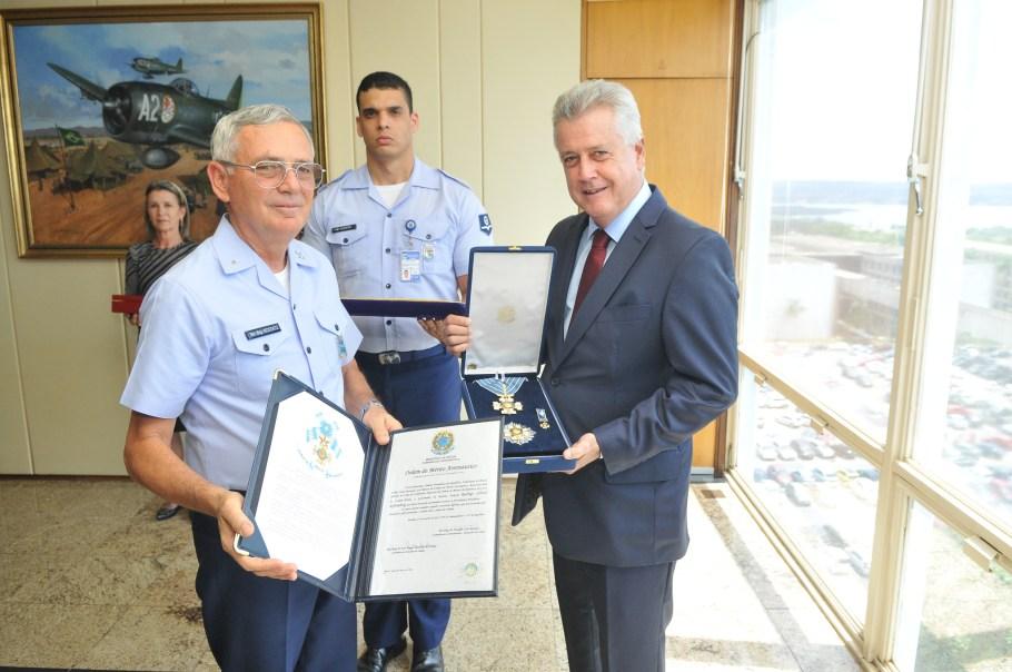 Comandante da Aeronáutica Nivaldo Luiz Rossato