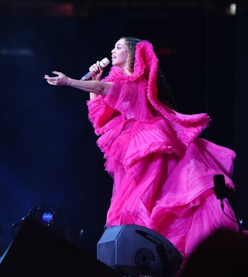 Beyonce no Global Citizen Festival: Mandela 100