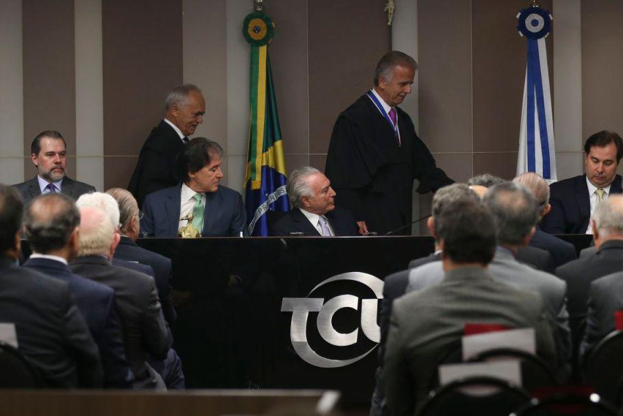 Posse José Múcio na presidência do TCU