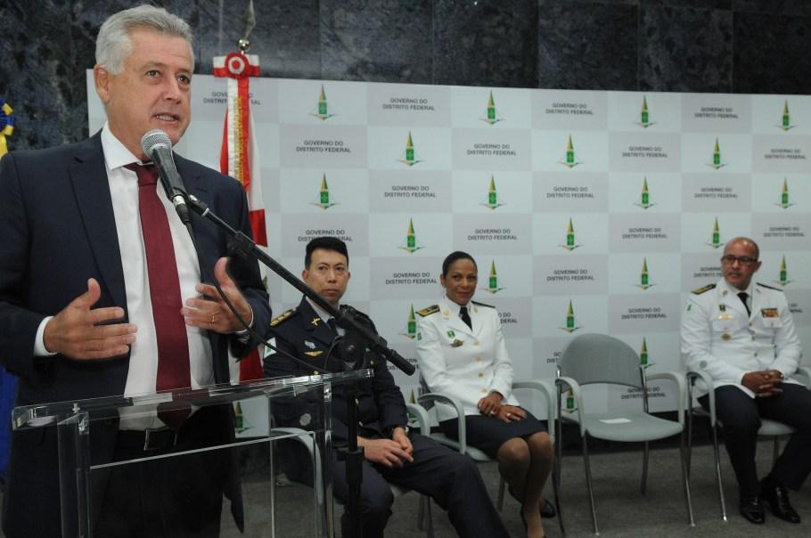 Coronel Cynthiane  toma posse no comando da Casa Militar do DF
