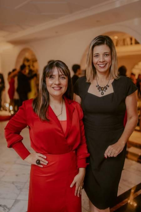 Janaina Megda e Kassia Ferraz