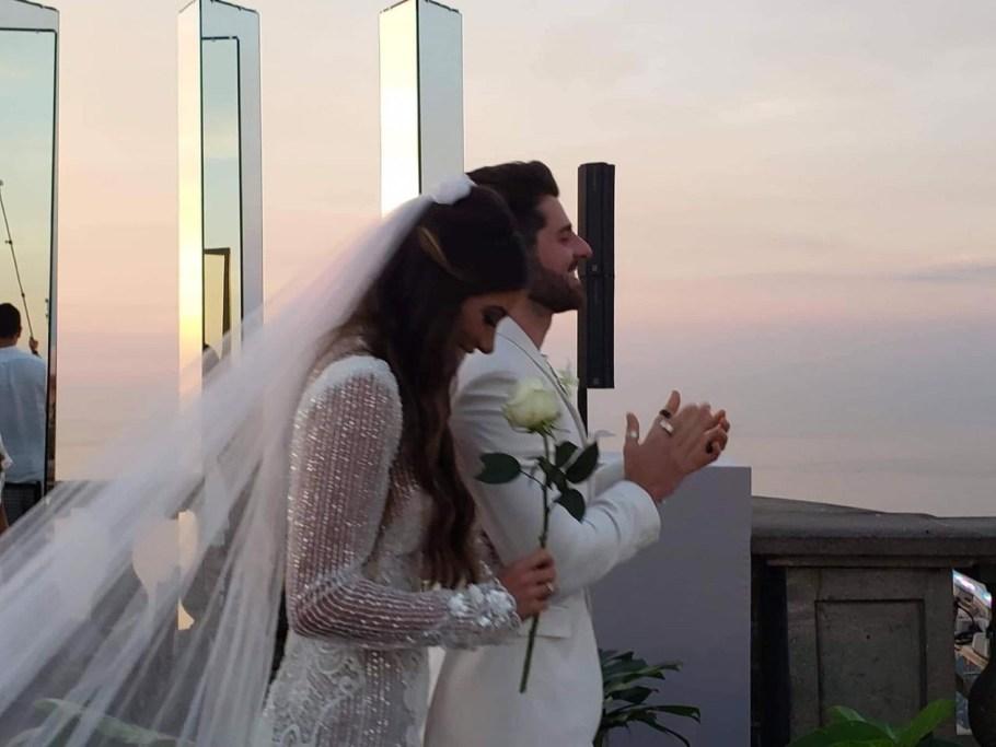 Casamento de Alok e Romana Novais