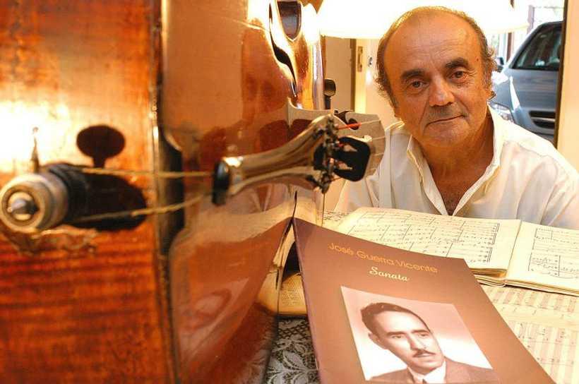 Morre violoncelista Antônio Guerra Vicente