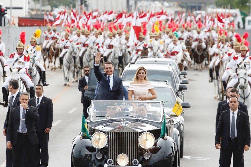 Posse presidente Jair Bolsonaro