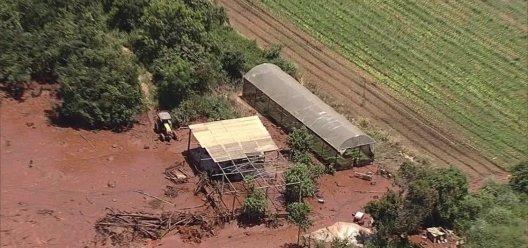 Rompimento barragem Mina Feijão MG -bernadetealves.com