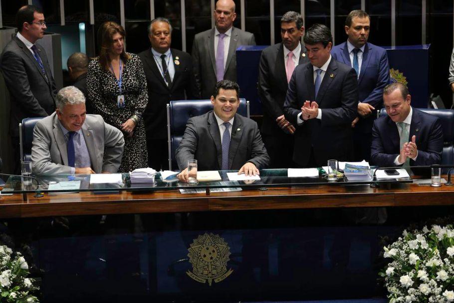 Davi Alcolumbre é eleito presidente do Senado - bernadetealves.com