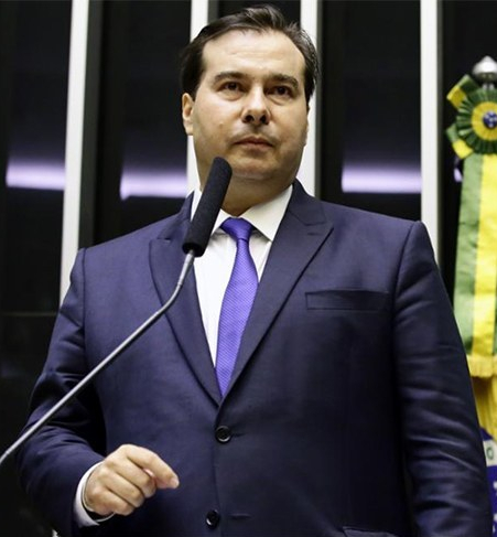 Rodrigo Maia reeleito para presidir a Câmara