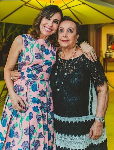 Cleucy Oliveira e Elcy meireles